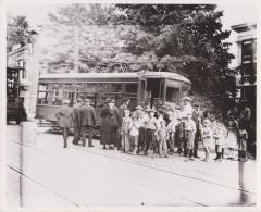 Photograph, Electric Streetcar, Cherry-Ramona Route