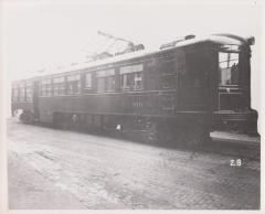 Photograph, Electric Streetcar, Michigan Railway Lines