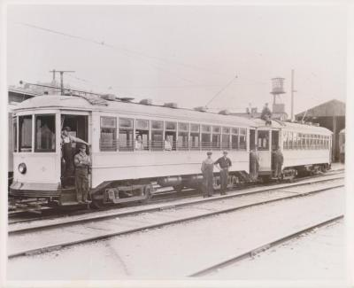 Photograph, United Suburban Railways Electric Cars