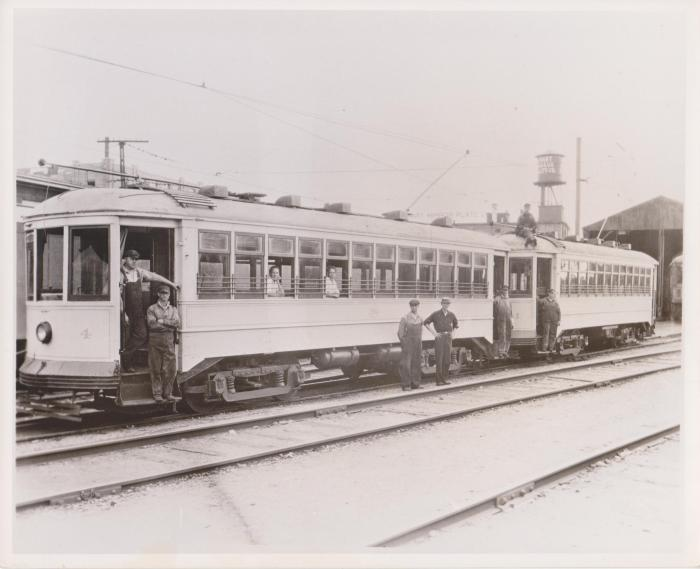 Photograph, United Suburban Railways Electric Cars