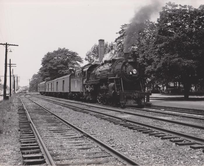 Photograph, Grand Trunk Western Railroad, Engine #5630