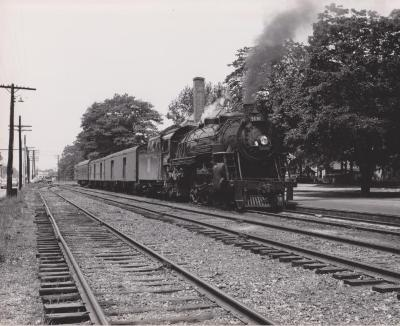 Photograph, Grand Trunk Western Railroad, Engine #5630