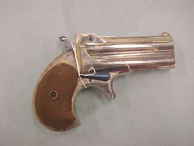 Pocket Pistol, 2-barreled Derringer