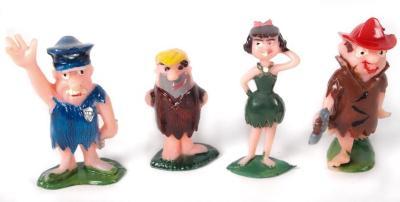 Barney Rubble Toy Figure Flintstones