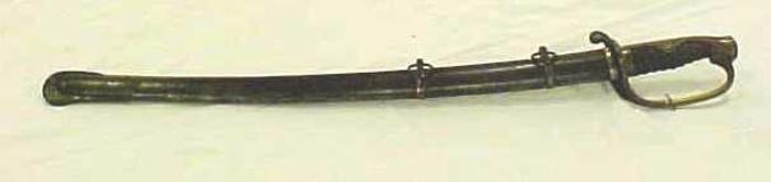 Japanese Officer's Sword And Scabbard