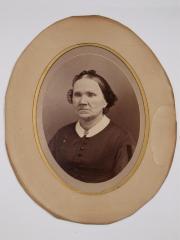 Photograph, Jane G. Ellis, Wife Of Archalaus Ellis