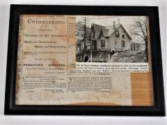 Photographic Clipping, William Haldane Residence Erected In 1837, Dwelling  And Shop On Propsect Hill