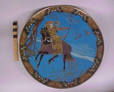 Cloisonne Plaque, Japanese