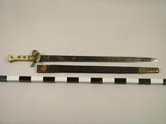 Sword (hunting Sword) And Scabbard