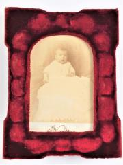Two Cabinet Card Photographs of Babies