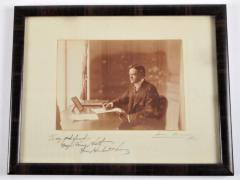 Signed and Inscribed Photograph of Herbert Hoover