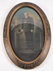 Photograph, Department Commander, A. C. Estabrook, 1938-39