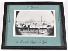 Photograph, Steamboat W. H. Barrett, at Lamont On The Grand River