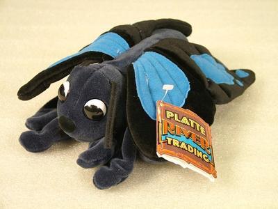 Glove Puppet, Black Butterfly