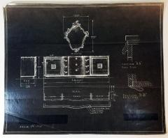 Blueprints, Johnson Furniture Company
