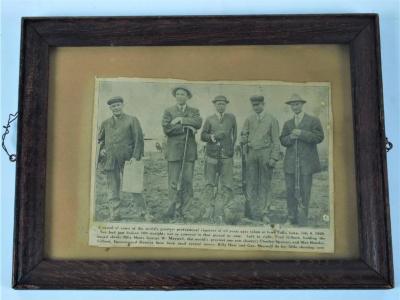 Halftone Print, Five Shooters, 1929