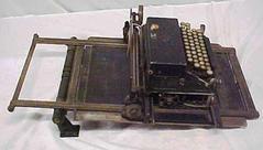 Bookkeeping Machine