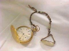 Ladies' Pocket Watch With Fob
