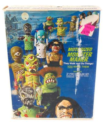 Toy, 'monster Maker Kit'