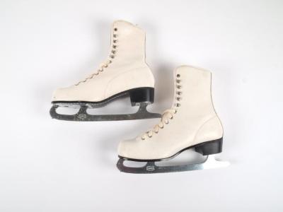 Woman's Ice Skates, Ca. 1965
