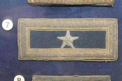 Strap, Shoulder, Brigadier General George Armstrong Custer's, 1 Only