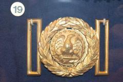 Buckle, Belt, U.S. Navy Officer's, Capt. Robert Wagstaff (2  Pieces)