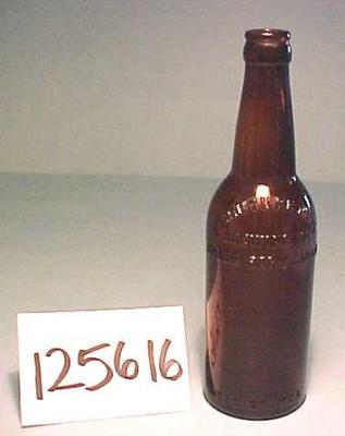 Beer Bottle, Brown Glass, Furniture City Brewing Co.