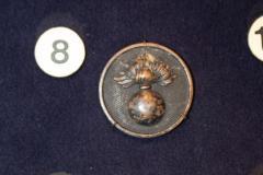Insignia, Collar Disc, Ordinance Department, U.S. Army