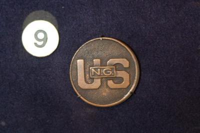 Collar Disc, U.S. National Guard