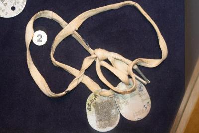 Tags, Identification, U.S. Naval Reserve, C.J. Noel, (2)