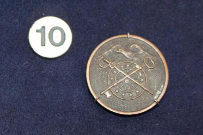 Collar Disc, U.S. Quartermaster Corps