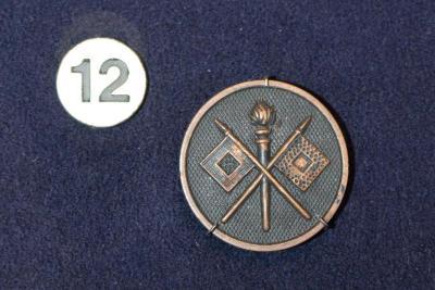 Insignia, Collar Disc, U.S. Signal Corps