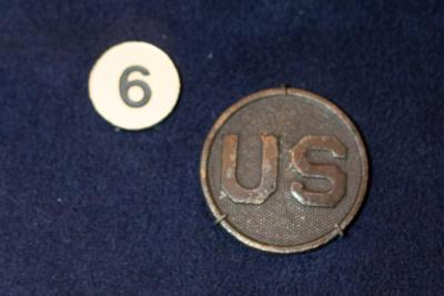 Collar Disc, U.S. Military
