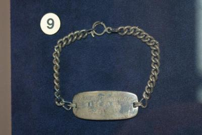 Bracelet, Identification, Harold D. Crane, U.S. Naval Reserve