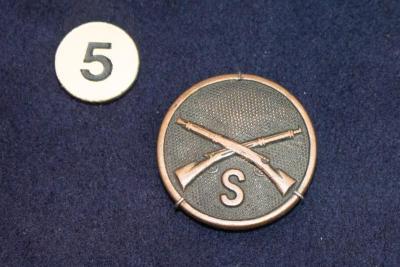Collar Disc, U.S. Sharpshooters