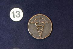 Collar Disc, U.S. Medical Corps