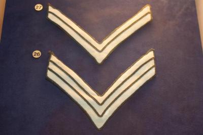 Chevrons, U.S. Army (infantry) Sergeant's (3)