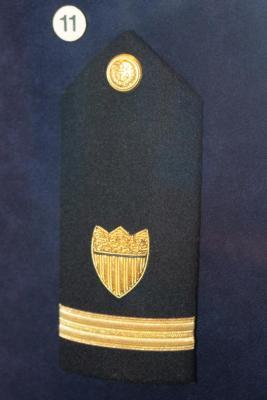 Ensign's Shoulder Board, U. S. Coast Guard