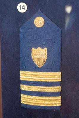 Lieutenant, Junior Grade, Shoulder Board, U.S. Coast Guard